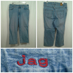 Jag jeans 14W short Light blue Straight leg Stretc